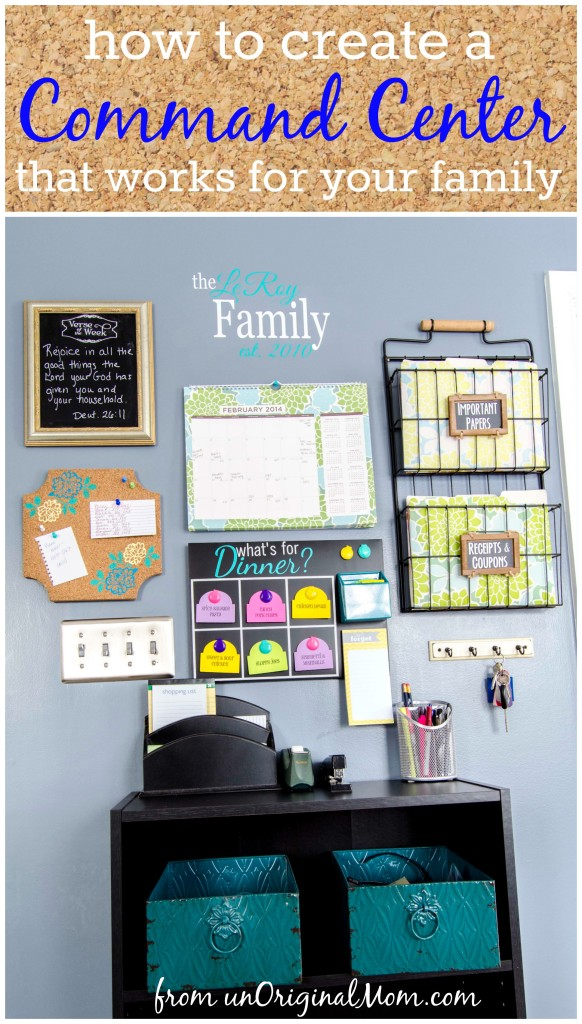 A Secret of Organized Families Everywhere