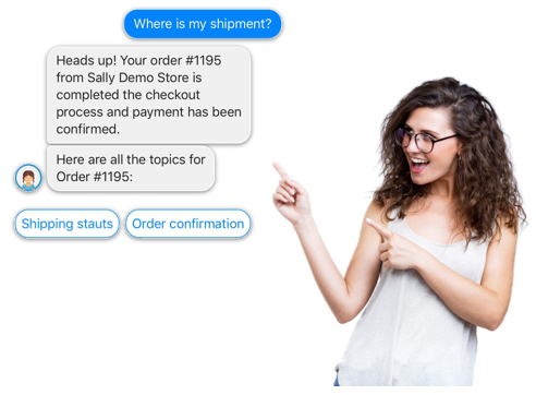 SallyBot - Automatic Customer Service for Shopify