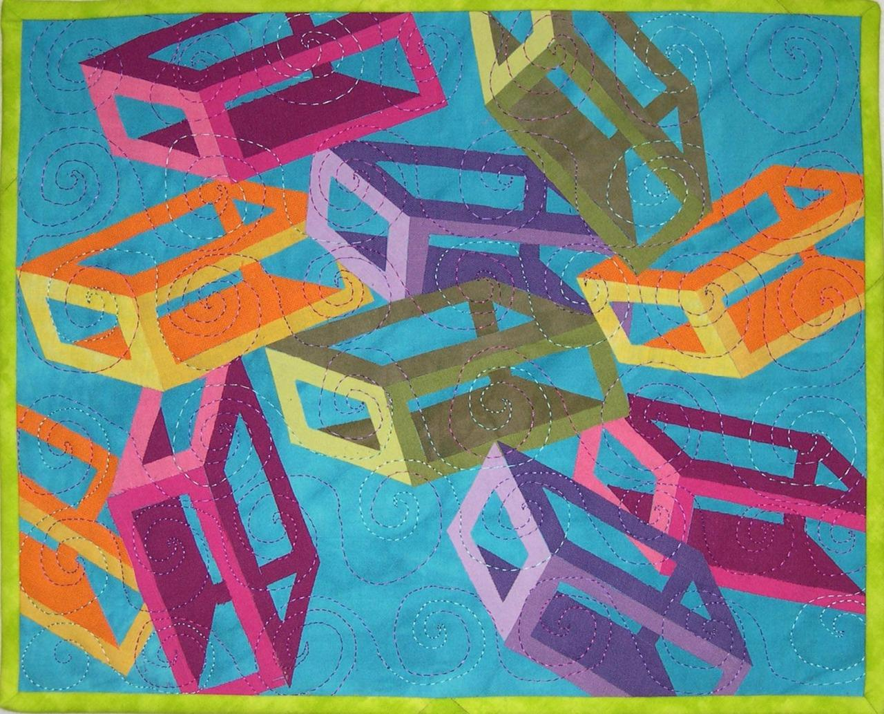 "jbe200quilts: "" Beth Gilbert Out of the Box """