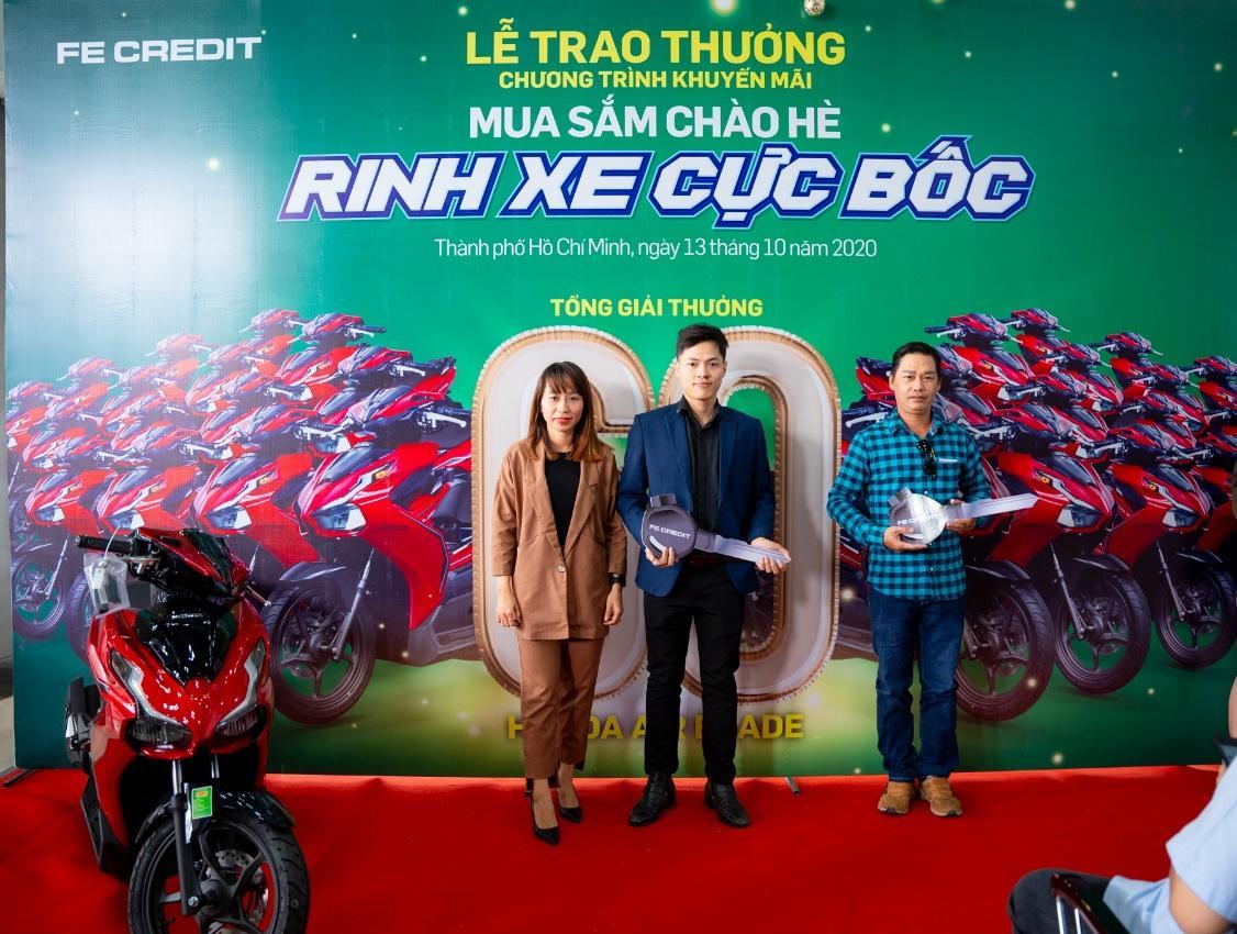 """FE CREDIT tổ chức Lễ trao giải thưởng chương trình """"Mua sắm chào hè, Rinh xe cực bốc"""" tại TPHCM - Ảnh 3"""