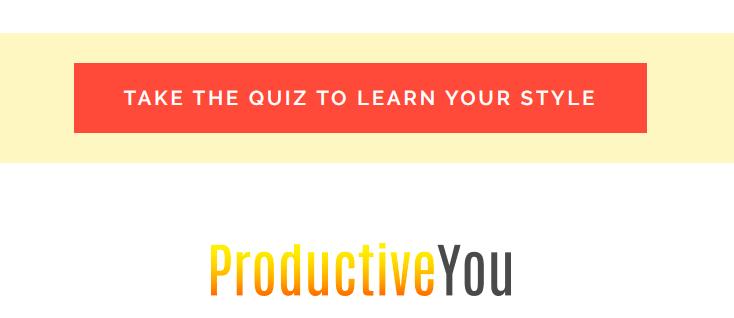 Take the quiz CTA