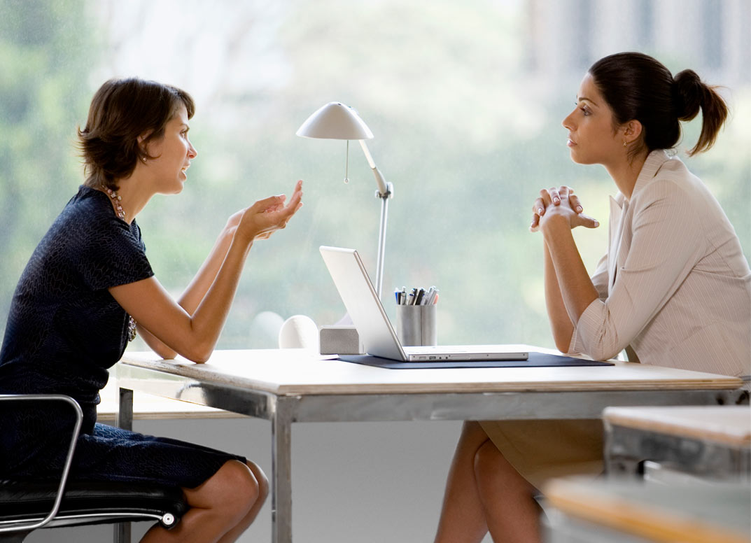 There are several ways a recruiter can carry out a job interview.