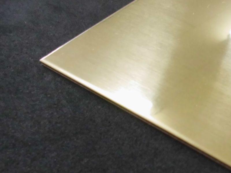 真鍮板(黄銅板) C2801 板厚0.5mm