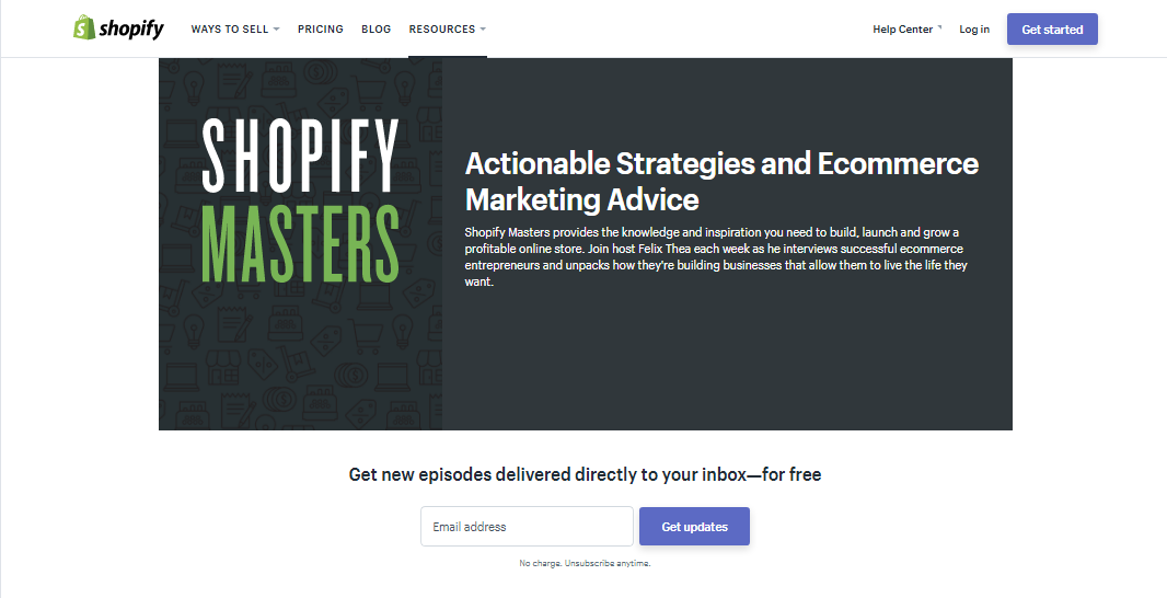 Implement 8 growth tactics shopify used to increase their revenue by they have five step by step video courses recorded by ecommerce entrepreneurs for prospects of all experience levels from beginner to expert level fandeluxe Gallery