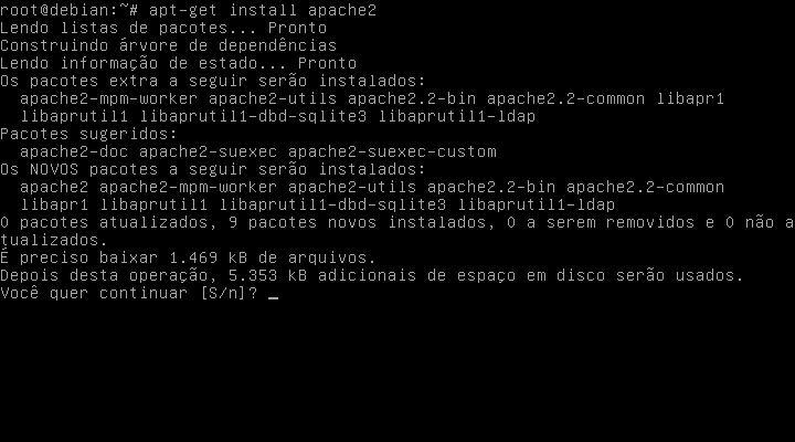 Debian 7 LAMP Apache2