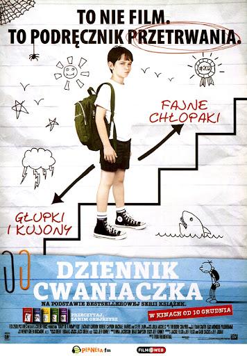 Przód ulotki filmu 'Dziennik Cwaniaczka'