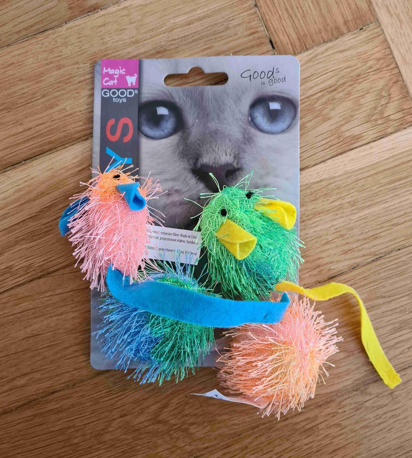 Recenze Super zoo: Magic Cat myš a koule s catnipem