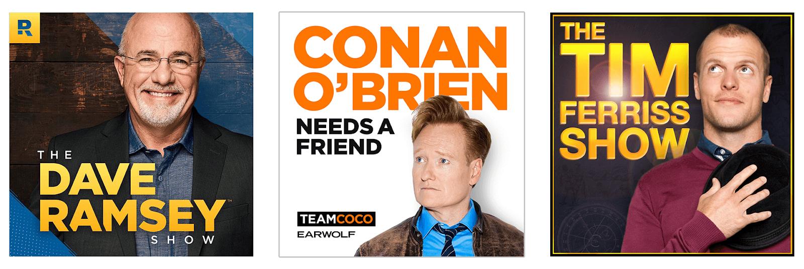 contoh cover art podcast personaliti