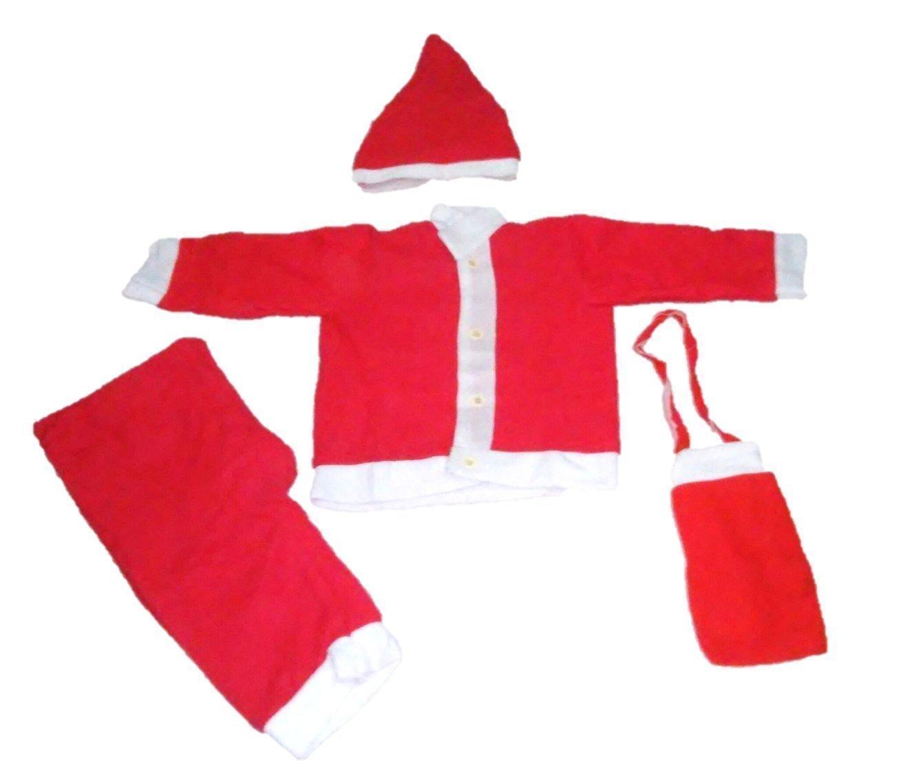 Santa's Dress For Kids