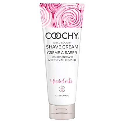 10. COOCHY Rash-Free Body Shave Cream Frosted Cake