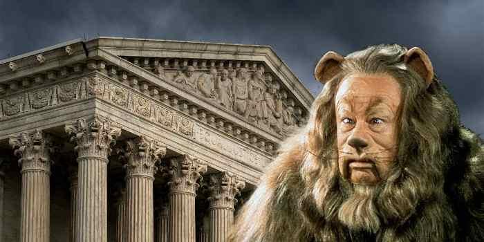 Profiles In Cowardice: A Court No Longer Supreme