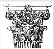 Greek Corinthian Capitals