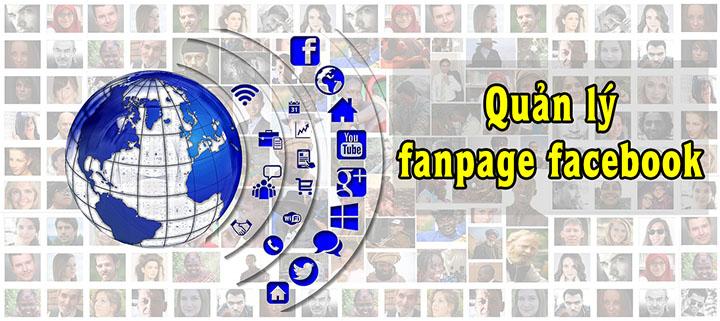 quản lý fanpage facebook