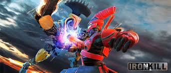 قتل الحديد: لعبة قتال الروبوت Iron Kill: Robot Fighting Game