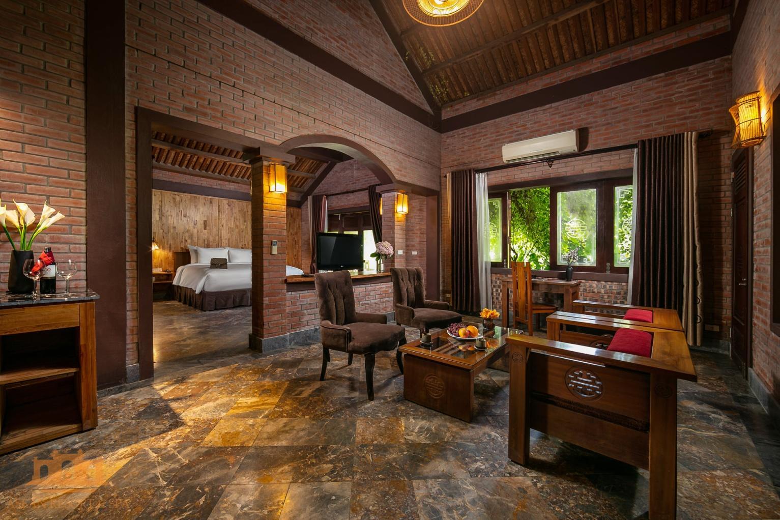 phòng lưu trú tại asean resort