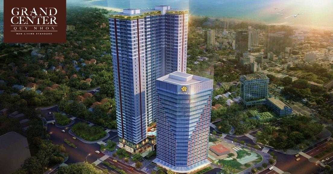 Grand Center Quy Nhơn là dự án căn hộ nằm ngay trung tâm thành phố biển