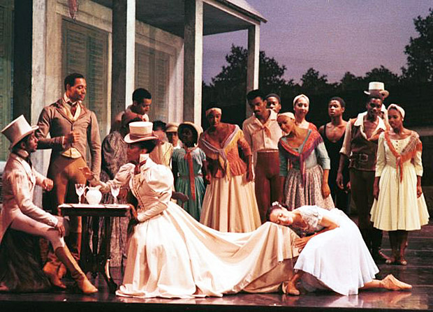 Dance Theatre of Harlem in Creole Giselle.© Dance Theatre of Harlem. (Click image for larger version)