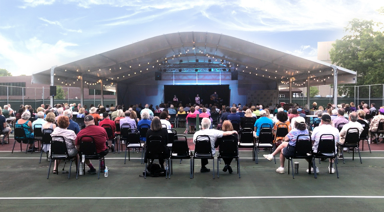 'The arts are back' at the new JCC Canalside Stage