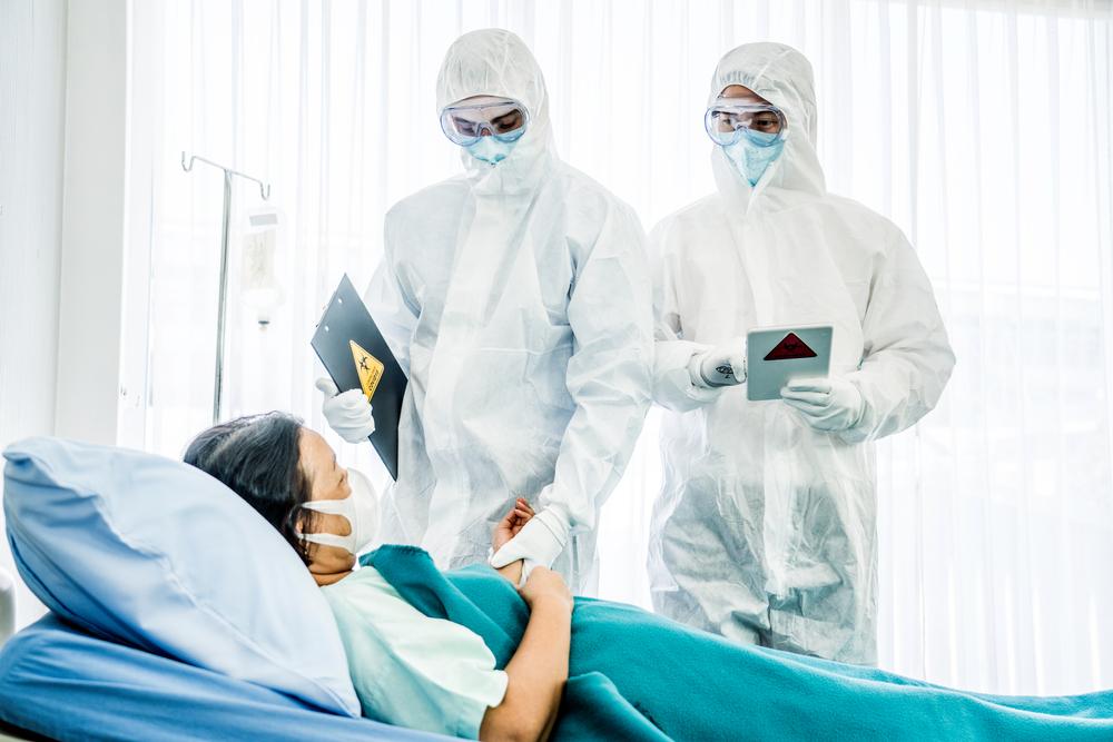 Apesar do longo tempo infectada, a paciente ficou poucos dias internada. (Fonte: Shutterstock)