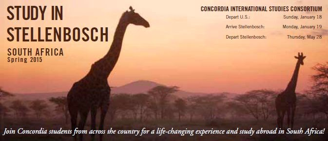 Concordia Semester in South Africa banner pic