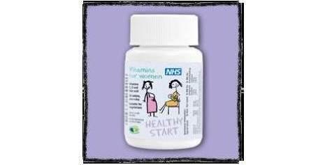 Vitaminas para mujer.