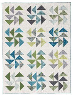 Milling Around quilt