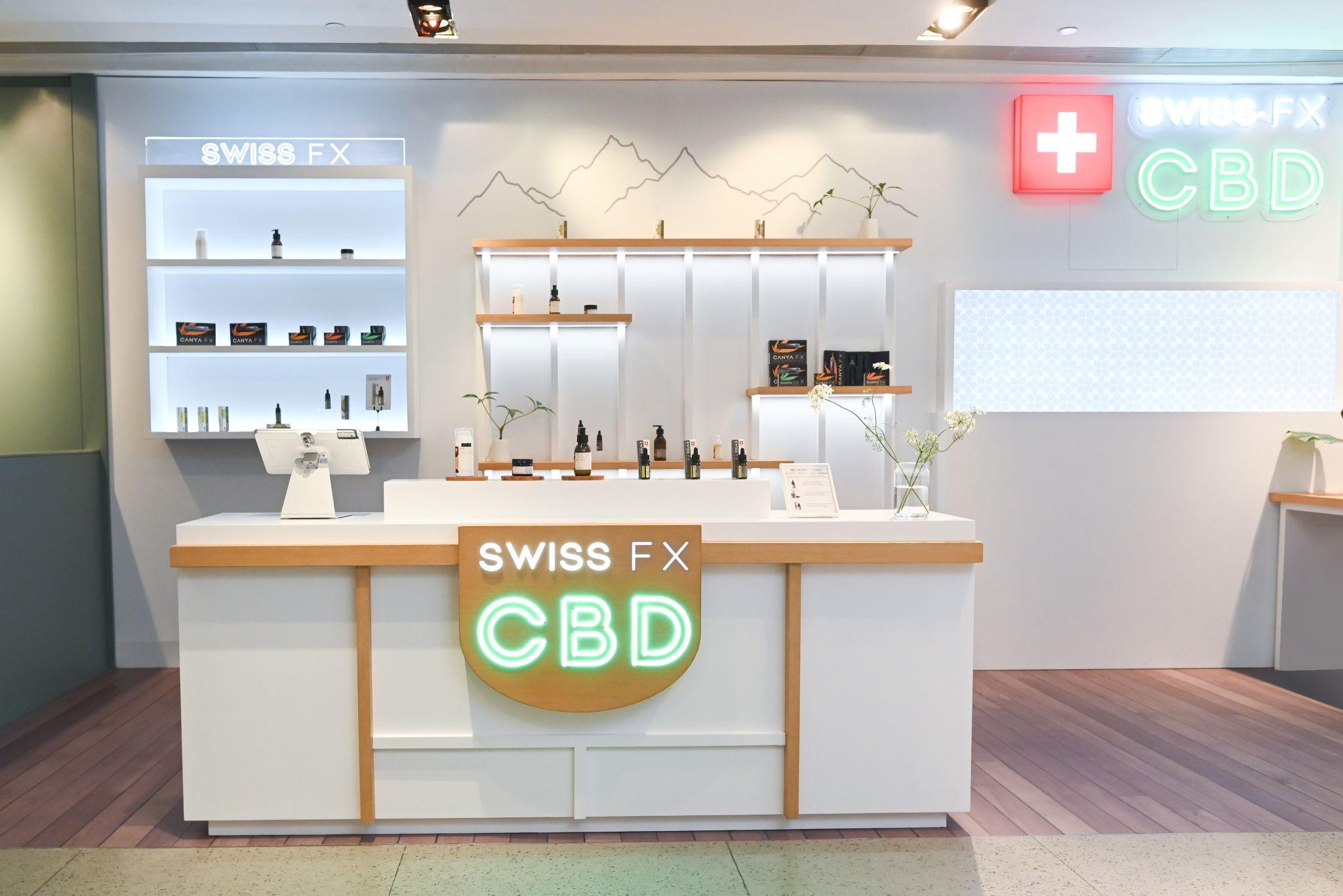 SWISS FX CBD Store in Hong Kong