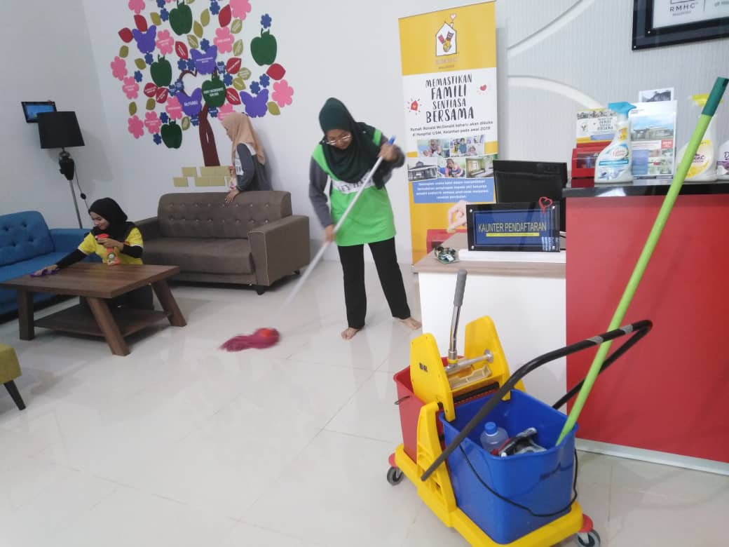Program CSR Afy haniff dengan Rumah Ronald McDonald di HUSM Kubang Kerian.