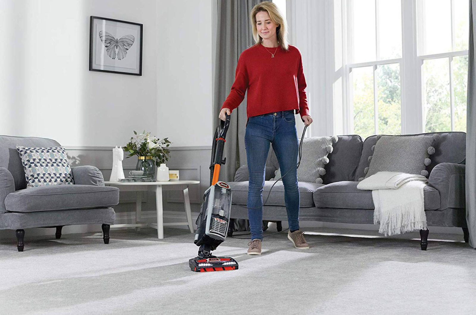 A vacuum cleaner helps you improve your psychological health and makes you feel more comfortable at home