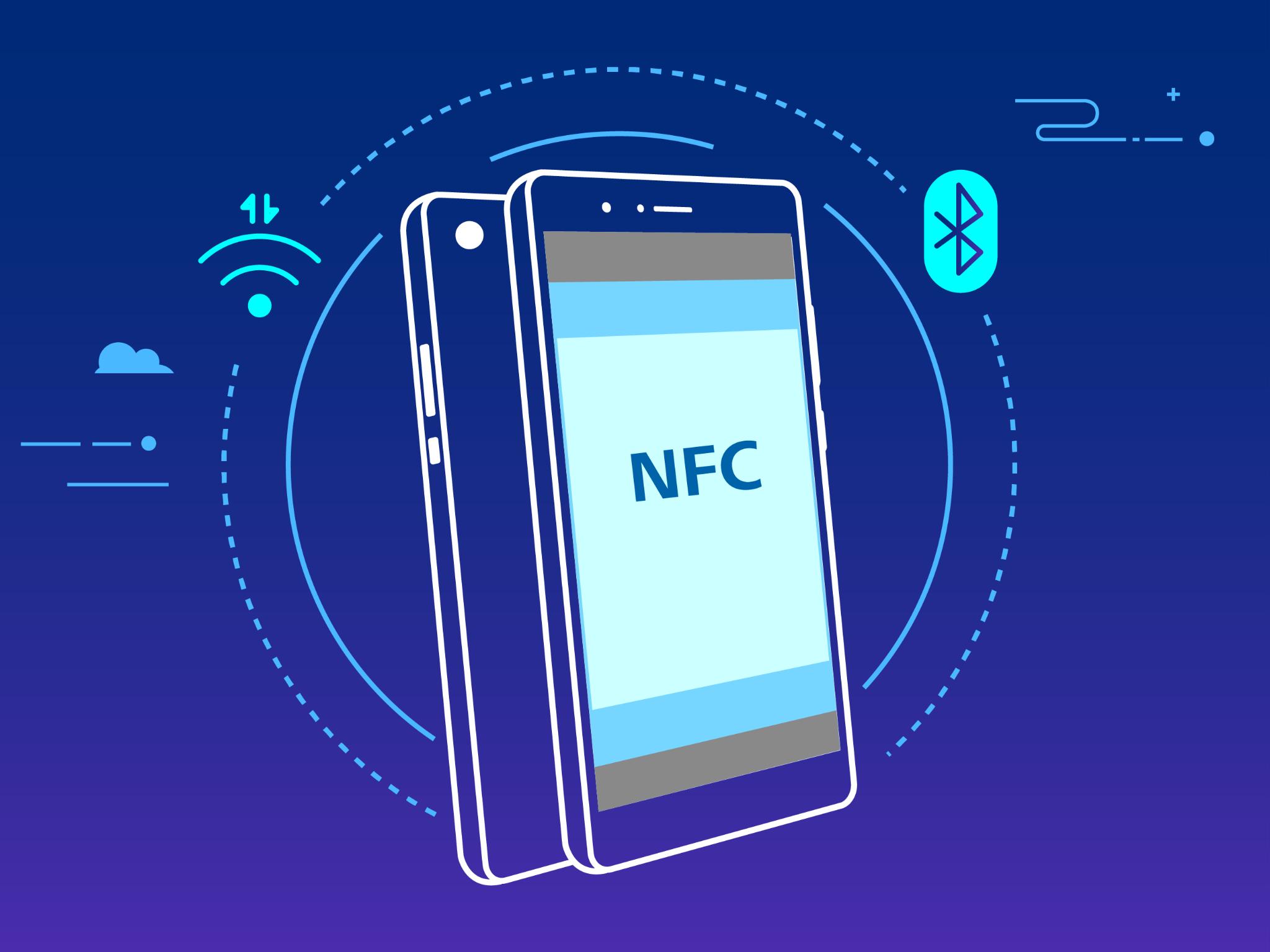 So sánh giữa NFC và Bluetooth