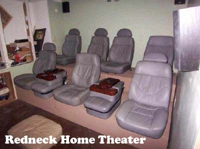 Redneck home projects