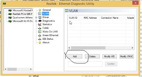 VLAN, VLAN configuration in window, vlan tag in window, tag network, configure vlan in window, VLAN in windows