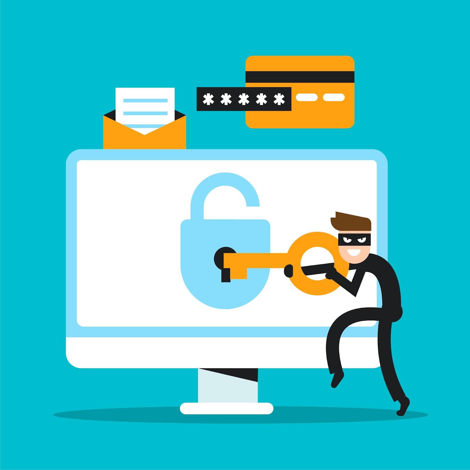 Ciberataques são muito comuns. Fique atento!