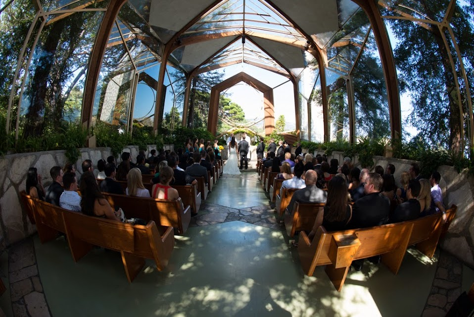 Ceremony View At Wayfarer S Chapel Rancho Palos Verdes Ca United States Of America