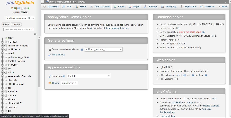 Ekspor database