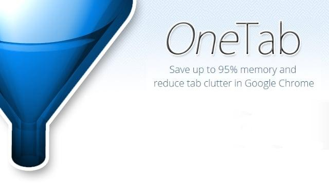 How to use OneTab to Reduce Tab Clutter While Browsing