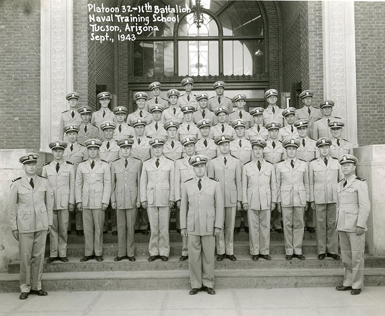 Completed-officer-training-school,-Sept.-1943