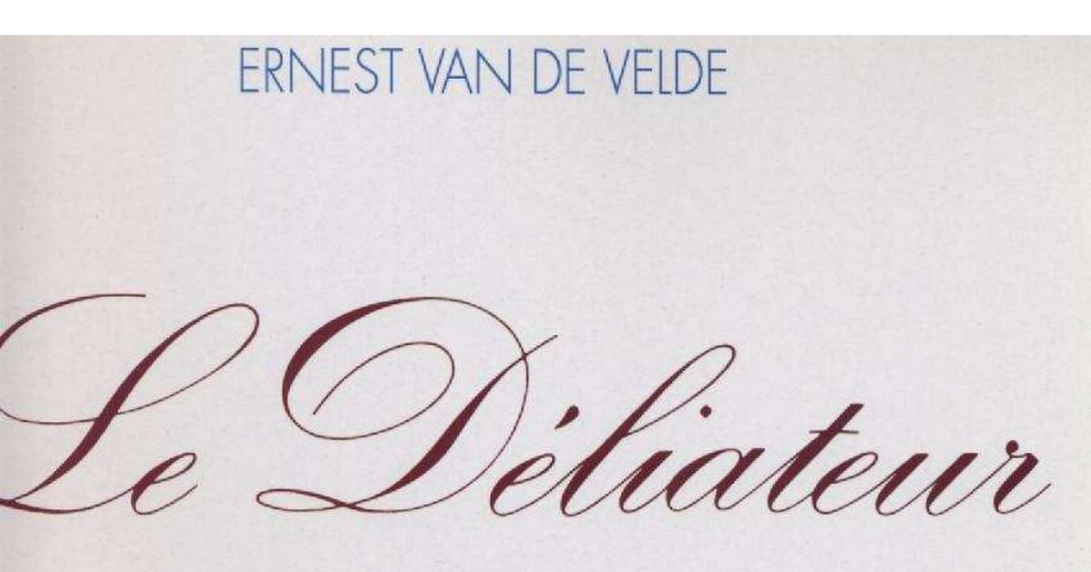 Ernest Broch/é Le D/éliateur de Van de Velde