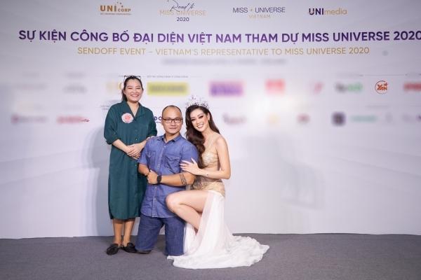 Khánh Vân ghi điểm khi quỳ xuống chụp ảnh với khách mời khuyết tật