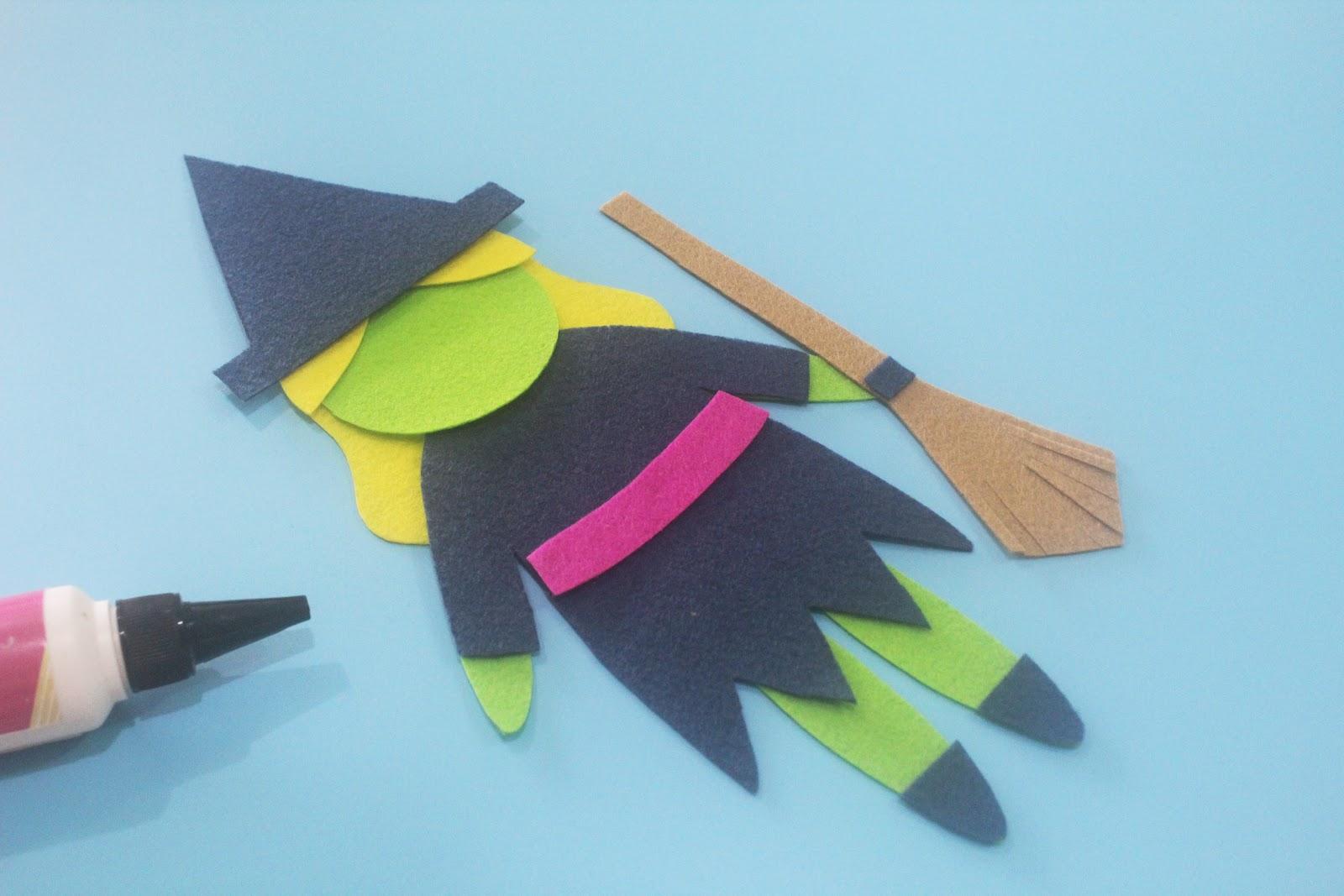 Halloween Hand Puppet Templates