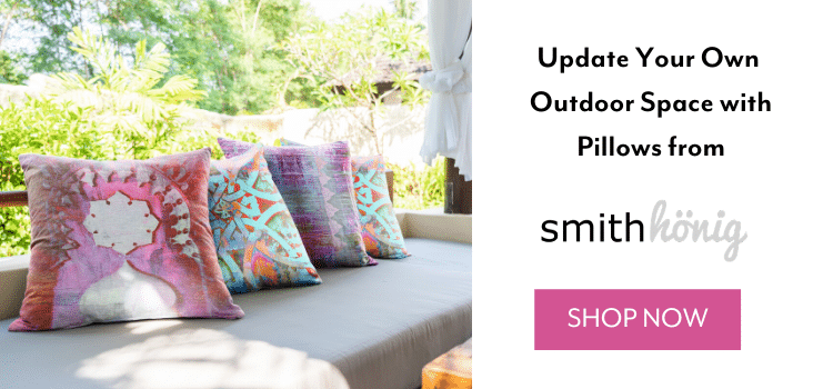 How to Mix and Match Outdoor Throw Pillows. Outdoor throw pillows come in many different color schemes. See our favorite combination of outdoor pillows paired with Adirondack chairs.