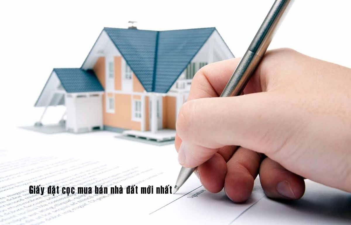 Hợp đồng đặt cọc đóng vai trò quan trọng khi mua bán bất động sản