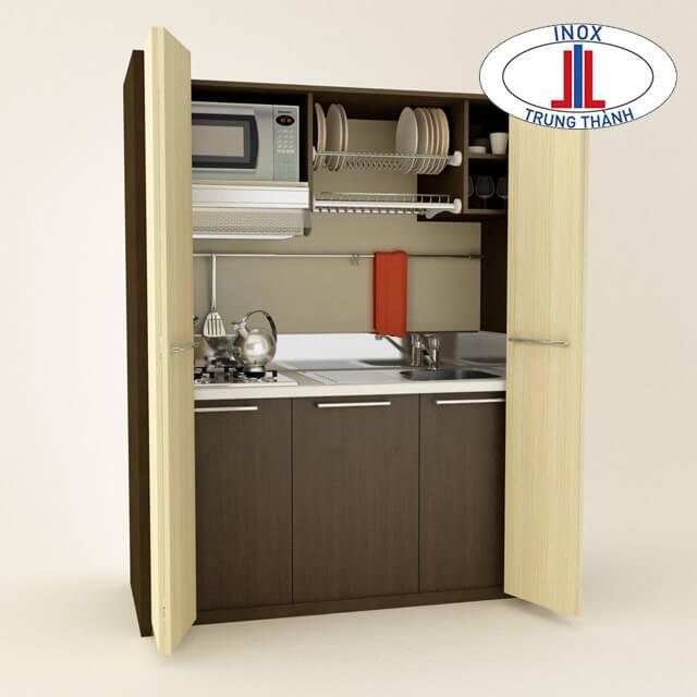 tủ bếp mini cho phòng trọ