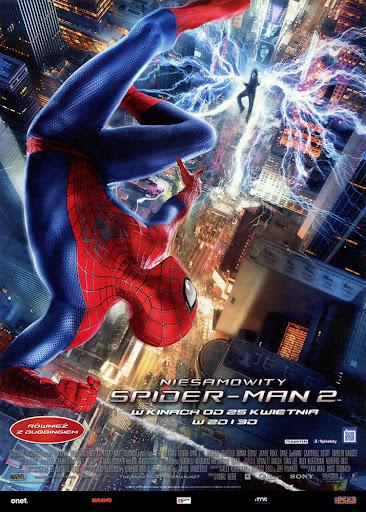 Przód ulotki filmu 'Niesamowity Spider-Man 2'