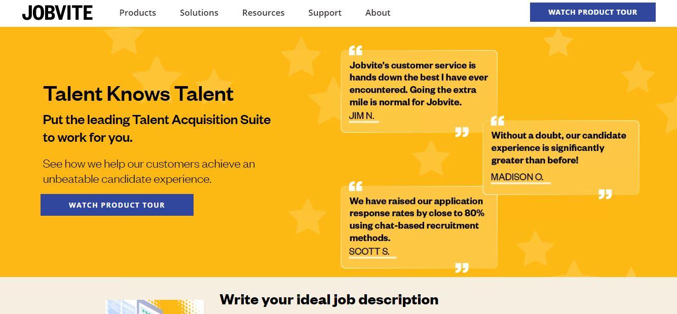 Cloud Based Recruitment Software - Jobvite