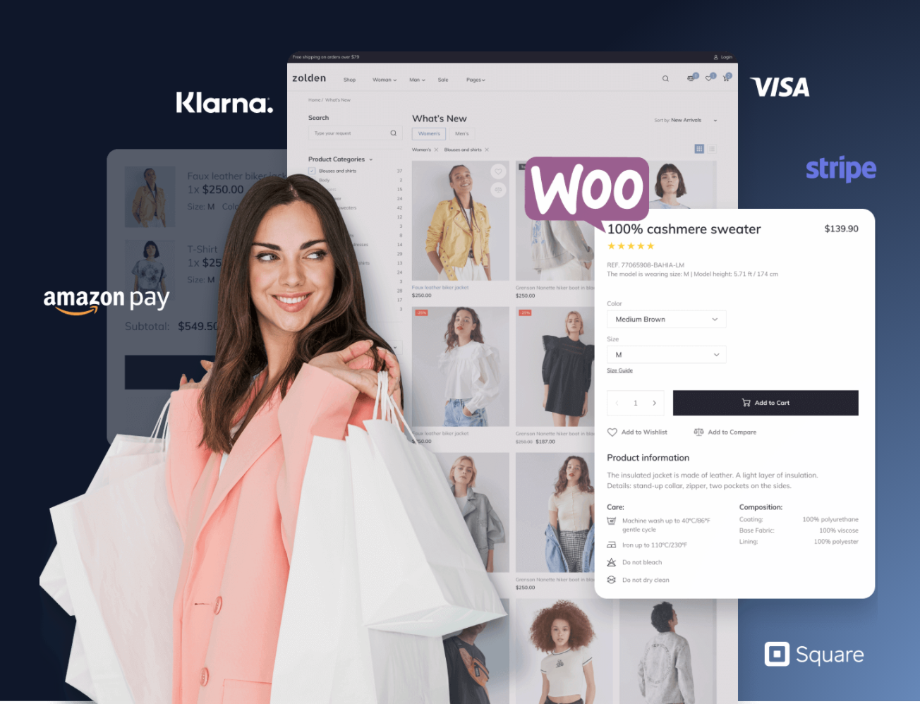 One-click eCommerce store