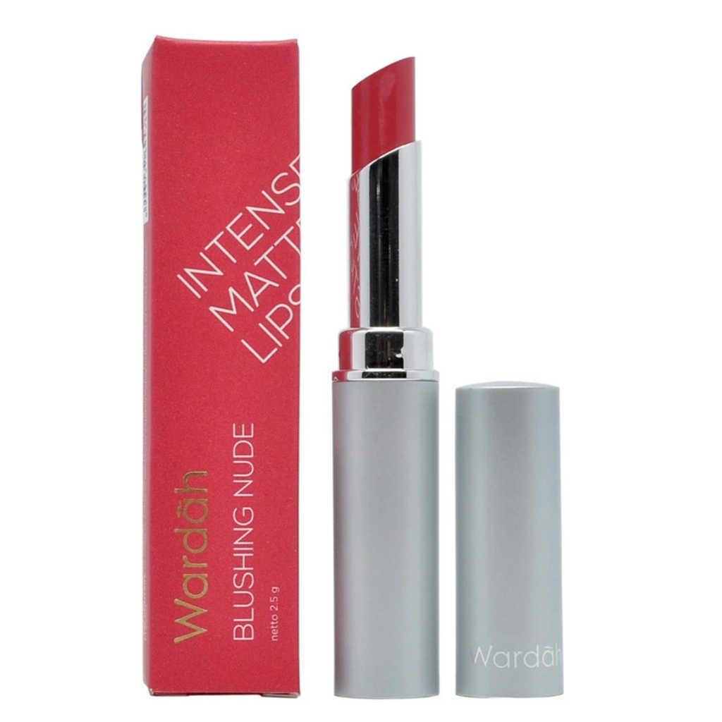 Wardah Intense Matte Lipstick – Blushing Nude Shade 02