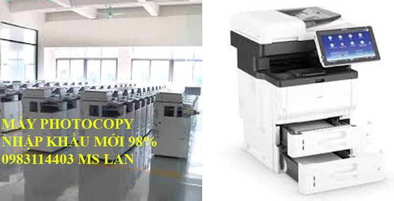 Địa chỉ nào bán máy photocopy cũ uy tín nhất tại TP HCM?