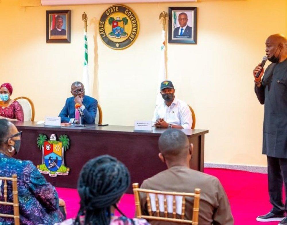 Governor Sanwo-Olu, RMD, and others