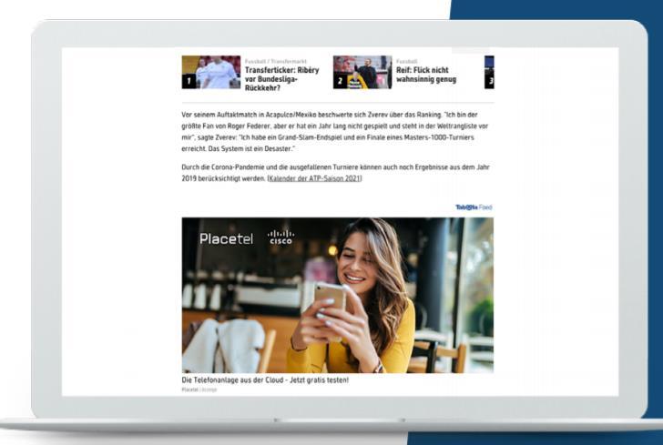 Placetel campaign